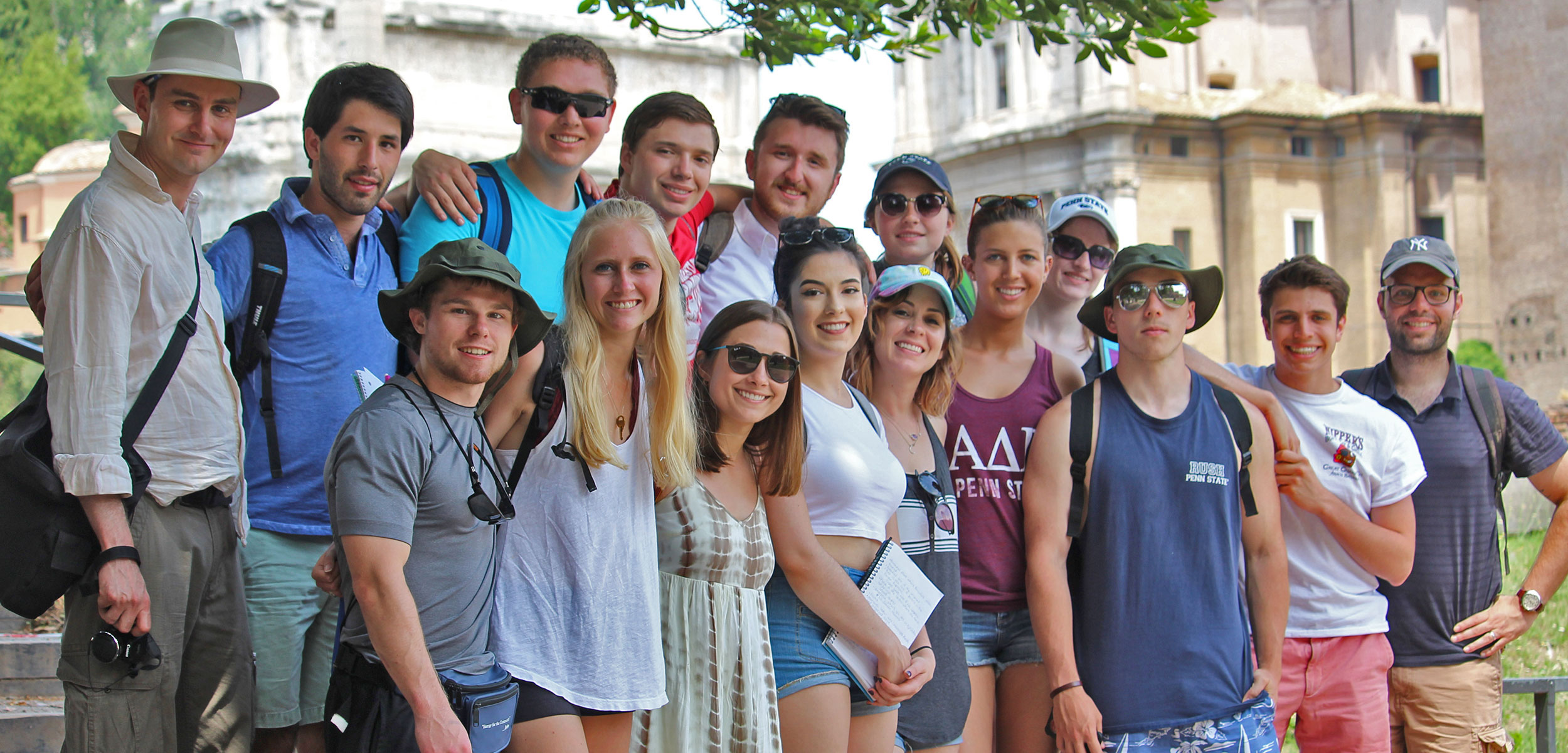 Group-of-students-in-Rome