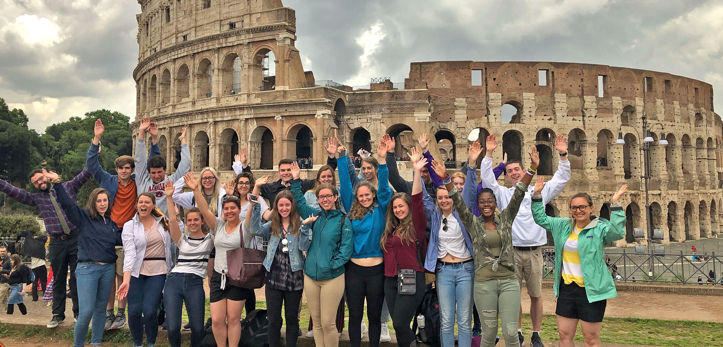 Students-in-Rome