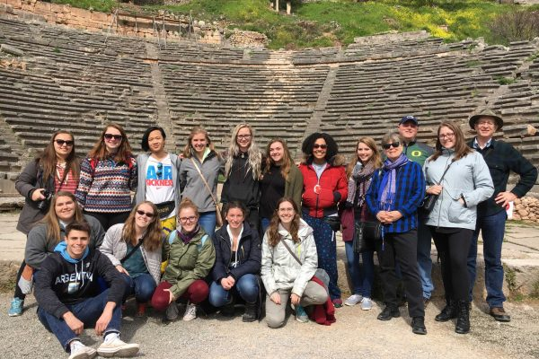 Students at Delphi