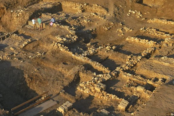 Tel Akko excavation site